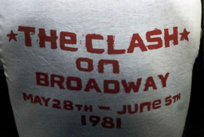 The Clash on Broadway at Bonds T-Shirt