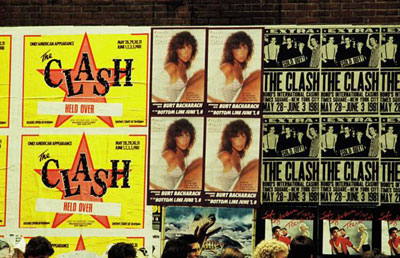 The Clash Concert Posters