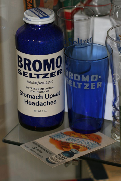 Old Bromo Seltzer Glass