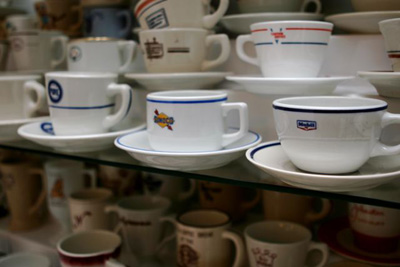 Mobil & Sunoco Coffee Cups