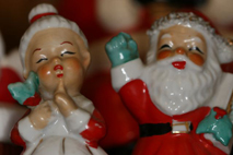 Santa and Mrs Claus S & P Shakers