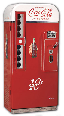 Vendo 81B Coke Machine