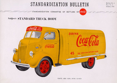 Coca-Cola Standard Truck Body Paint Theme