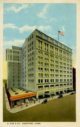 Postcard of G. Fox & Co.
