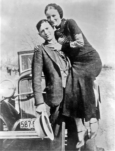 Bonnie and Clyde - early 1930s