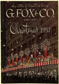 G. Fox & Co. 1957 Christmas Catalog