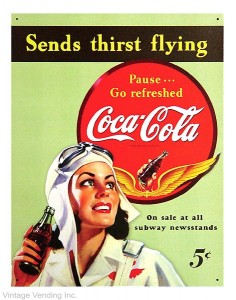 Coca-Cola Sends Thirst Flying Ad