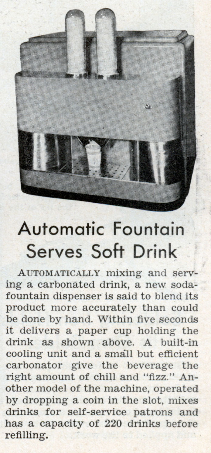 1930s Soda Fountain News Article