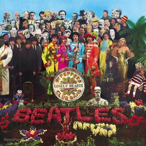 Sgt. Peppers Album Cover Sign