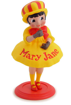 Mary Jane Peanut Butter Molasses Retro Candy Vinyl Figure