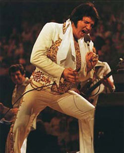 Elvis in 1977 - Indanapolis