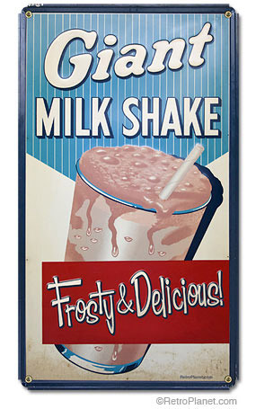 Milkshake sign