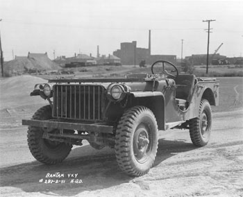 1941 Bantam Army Jeep