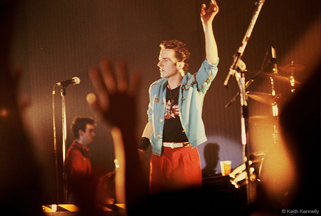 Joe Strummer Performing