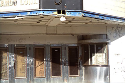 Central Theater Entrance Lawrence