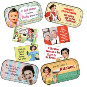 Retro Humor Magnets