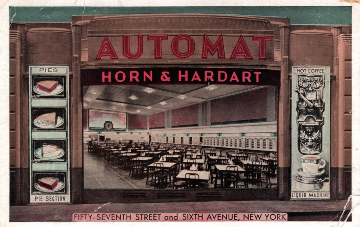 Postcard for Automat