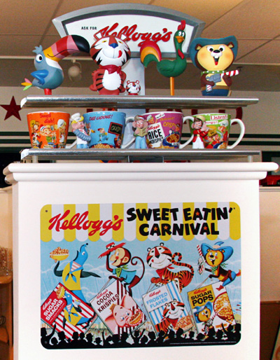 Kelloggs Signs and Collectible Figures