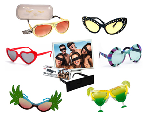 Retro Novelty Glasses