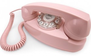 Crosley Princess Pink Retro Phone