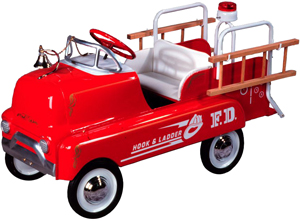 1950s AMF GMC Fire Truck Pedal Car