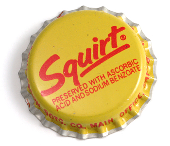 Ruby red squirt soda palin
