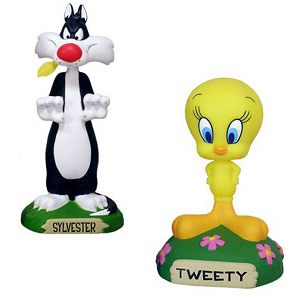 Sylvester & Tweety Statues