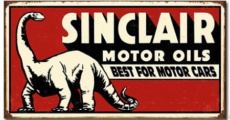 Sinclair Motor Oils Sign