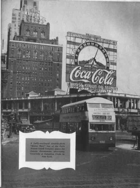 Coca-Cola Sign And Bus