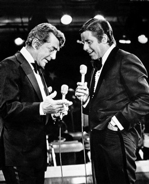 Dean Martin and Jerry Lewis 1976