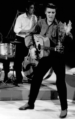 Elvis Presley on Ed Sullivan Show 1956