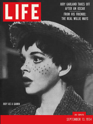 Judy Garland Cover of Life Magazine 1954