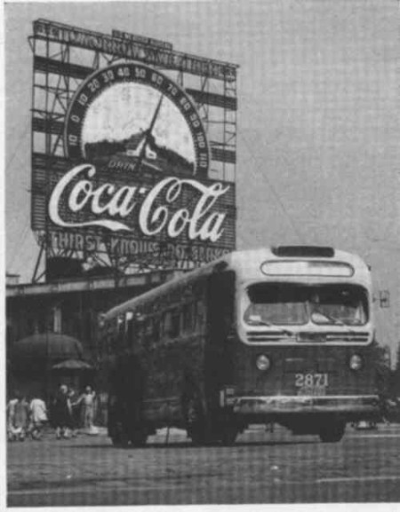 NYC Coca-Cola Sign