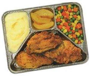 Original Swanson TV Dinner 1954