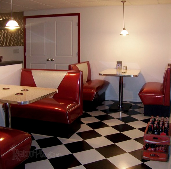 Diner Booths Retro Diner Booths and Kitchens Booths