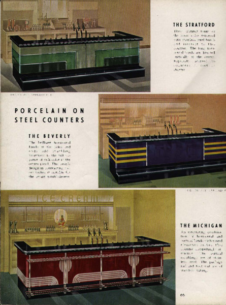 Bastian-Blessing Porcelain on Steel Counters