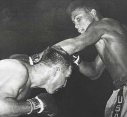 1960 Cassius Clay & Tunney Hunsaker Fight