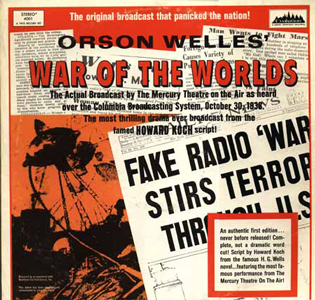 Orson Welles Broadcast War of the Worlds