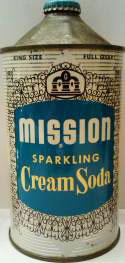 Mission Soda Cone-Top Can