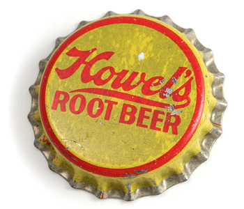 Howel's Root Beer Bottle Cap