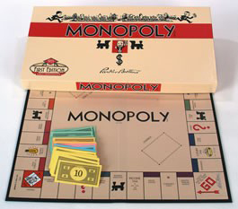 Monopoly Board Game 1935