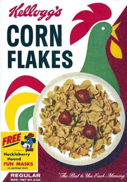 Corn Flakes Box 1960s