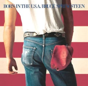 Born in the USA album cover
