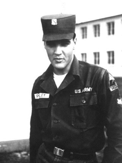 Elvis Presley US Army Picture