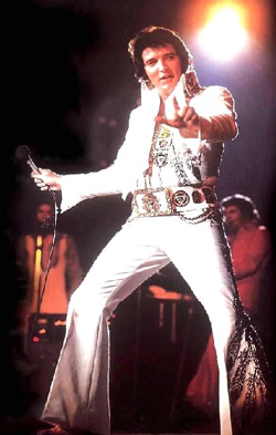 Elvis Presley White Jumpsuit