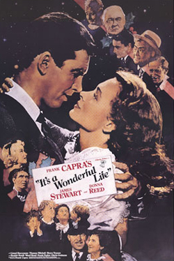 Capra's It's A Wonderful Life Movie Poster