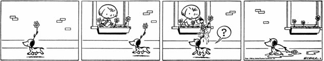 Snoopy's First Appearance