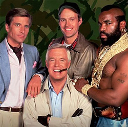 Cast of THE A-TEAM