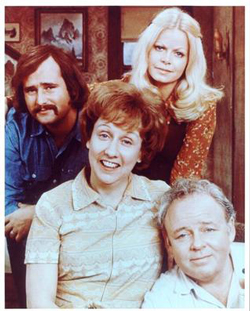 Cast of ALL IN THE FAMILY