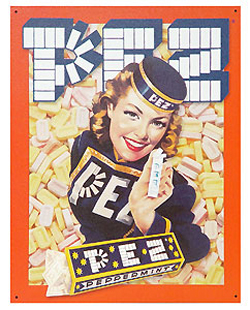 The PEZ Girl